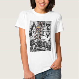 The zipper tee shirt
