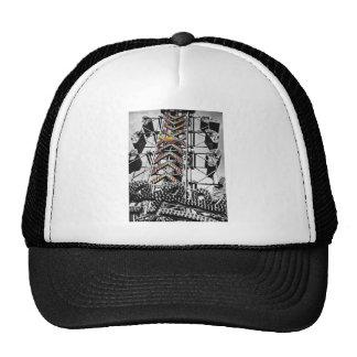 The zipper trucker hat