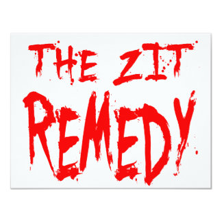 The Zit Remedy Card