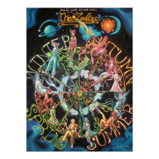 The Zodiac Print