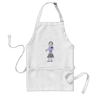 The zombie 2 adult apron