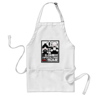 The Zombie Apocalypse Starts At Home Aprons
