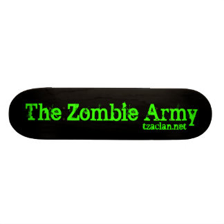The Zombie Army Skateboard Deck