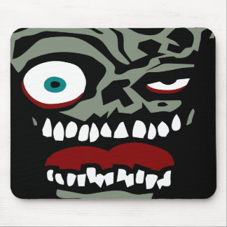 The Zombie face of doom Mousepad
