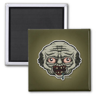The Zombie 2 Inch Square Magnet