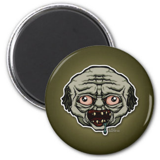 The Zombie 2 Inch Round Magnet