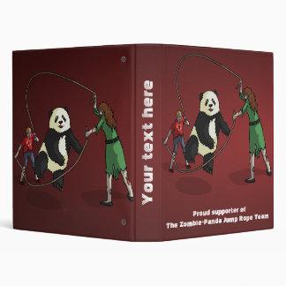 The Zombie-Panda Jump Rope Team, Vinyl Binder
