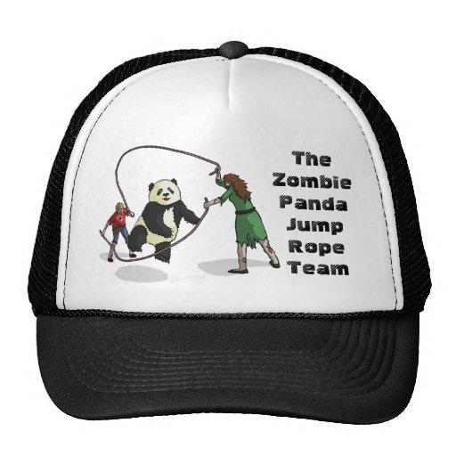 The Zombie-Panda Jump Rope Team, Hats