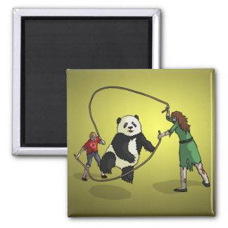The Zombie-Panda Jump Rope Team, Fridge Magnet
