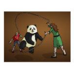 The Zombie-Panda Jump Rope Team, Postcards
