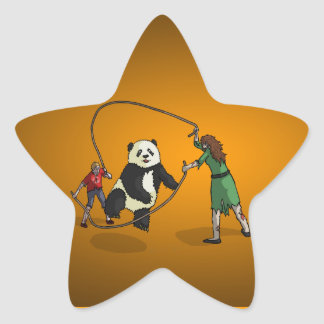 The Zombie-Panda Jump Rope Team, Star Stickers