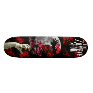 The Zombie Shoot Official Skate Board