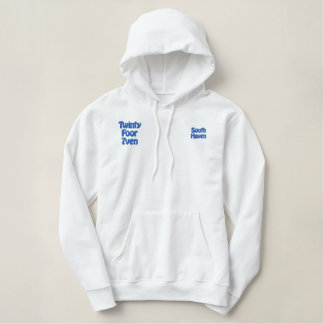 The Zone - South Haven, Michigan Embroidered Hoodie