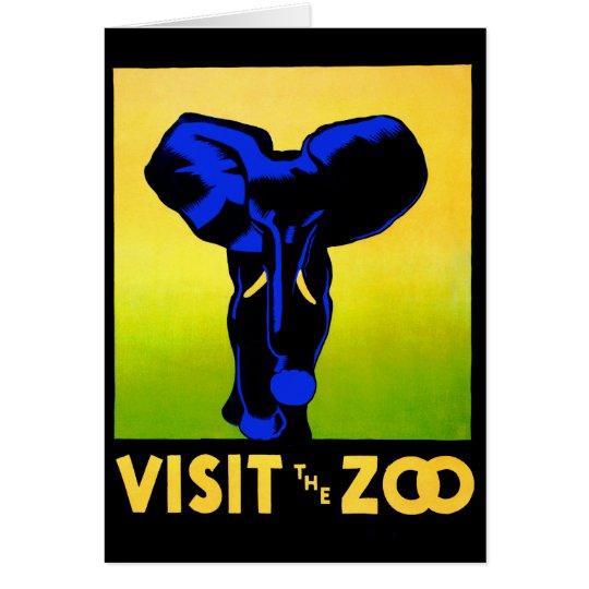 The Zoo!! Card