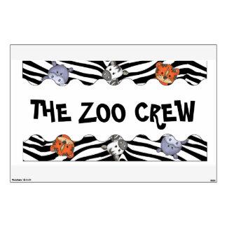 The Zoo Crew Zoo Animals Wall decal