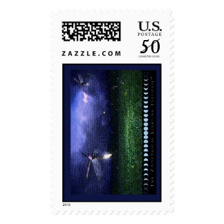 The Zoological Lighting Institute Firefly Stamp