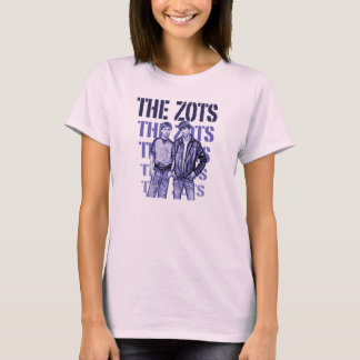 The Zots Sketch - Pink Shirt