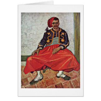 The Zouave By Vincent Van Gogh Cards