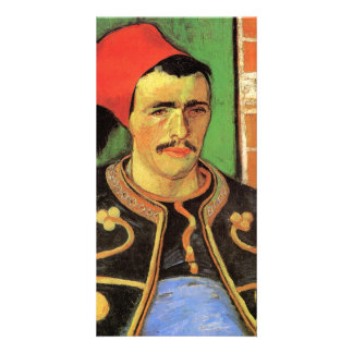 The Zouave Half Length by Vincent van Gogh Photo Card
