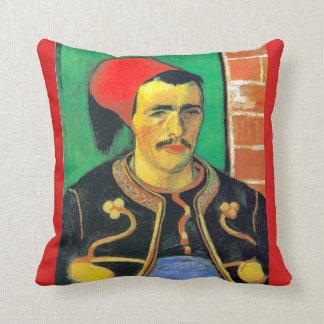 The Zouave Throw Pillow