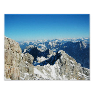 The Zugspitze,Germany Poster