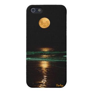 TheAeys - reflexión de la luna iPhone 5 Carcasas