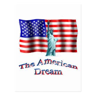 TheAmericanDream Postcard