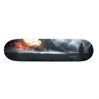 "TheARM^^ ""Burning Oil"" Skateboard Deck"