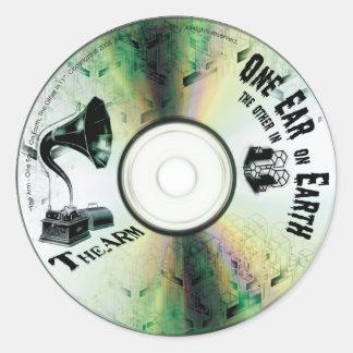 """TheArm^^ """"One Ear in 11""""  Large Sticker"""