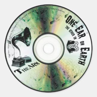 """TheArm^^ """"One Ear in 11"""" Sticker"""