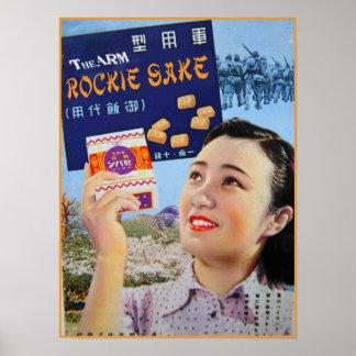 "TheARM^^ ""Rockie Sake"" Poster"