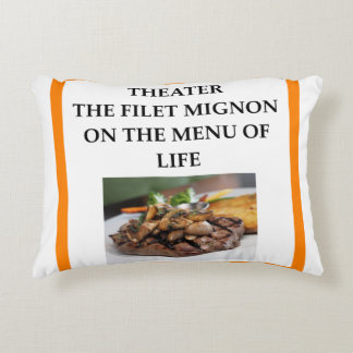 THEATER ACCENT PILLOW