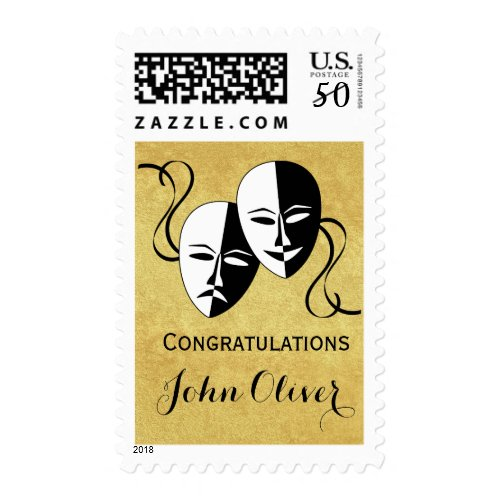Theater / Actor Congratulations Graduation Postage