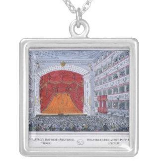 Theater am Karntnertor Vienna Silver Plated Necklace