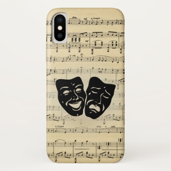 Theater and Music iPhone X Case