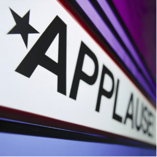 Theater Applause Sign Statuette
