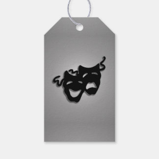 Theater Comedy Tragedy Masks Gift Tags