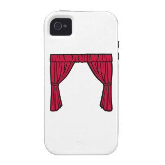 Theater curtain iPhone 4 cases