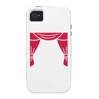 Theater curtain vibe iPhone 4 cover