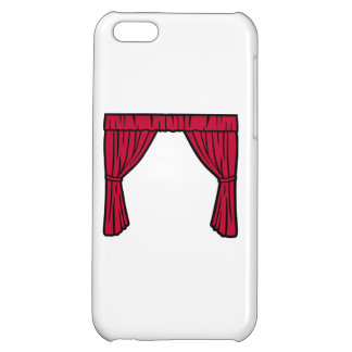 Theater curtain cover for iPhone 5C
