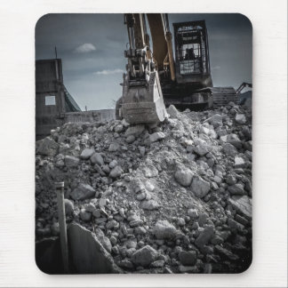 Theater Demolition Rubble Mouse Pad