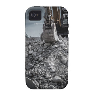 Theater Demolition Rubble Vibe iPhone 4 Case