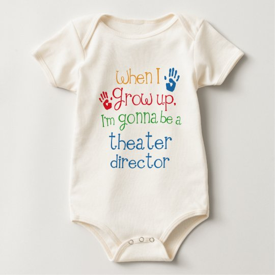 Theater Director (Future) Child Baby Bodysuit
