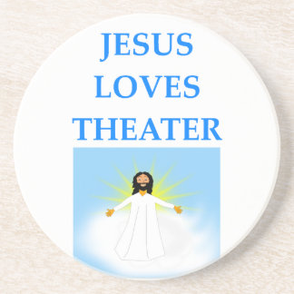 THEATER DRINK COASTER