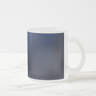 Theater-lights-background1031 BLACK DARK BLUE SURF Frosted Glass Coffee Mug