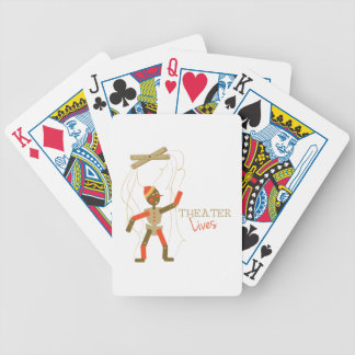 Theater Lives Bicycle Playing Cards