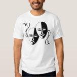 Theater Masks T Shirts