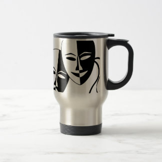 Theater Masks Travel Mug