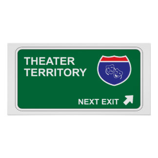 Theater Next Exit Poster