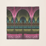 """Theater of Fantasy, Abstract Colorful Fractal Art Scarf<br><div class=""""desc"""">Welcome to the theater of fantasy. Sit down and feel comfortable in this extraordinary ambience. Design for your scarf and more.</div>"""